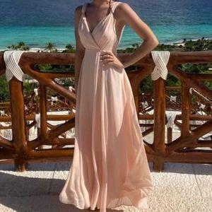 Blush dress size S from Lulu's